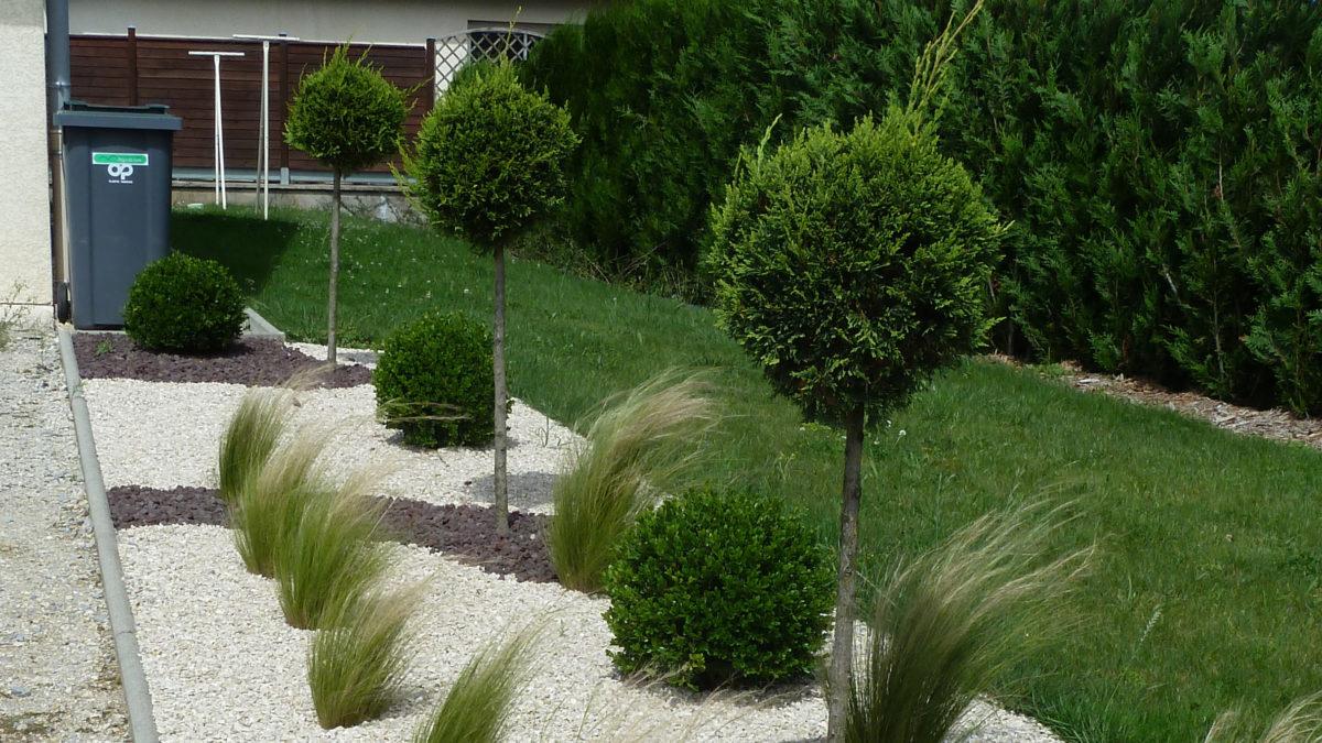 Plantations terrasse pour maison individuelle, Magny-Vernois (70)